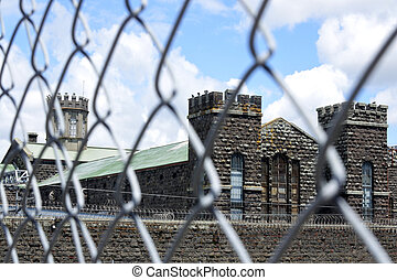 The old Mt Eden prison exterior