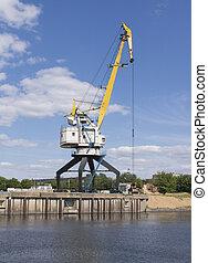 The old port crane.