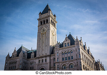 The Old Post Office Building, in Washington, DC.