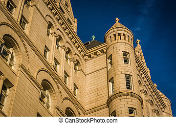 The Old Post Office, in Washington, DC.