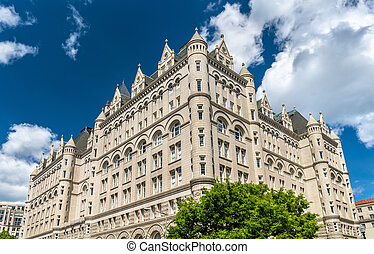 The Old Post Office Pavilion in Washington, DC. United States