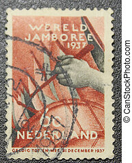The old postage stamp