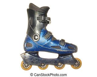 The old roller skates
