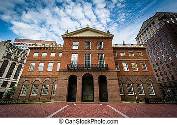 The Old State House, in downtown Hartford, Connecticut.