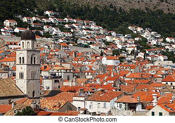 The old town Dubrovnik in Croatia