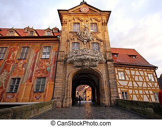 The Old Town Hall in Bamberg(Germany) - The Old Town Hall...