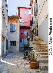 old town in Rovinj Croatia