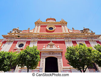Old Town in Seville