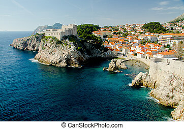 Dubrovnik, Croatia - The Old Town of Dubrovnik, Croatia