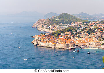 The Old Town of Dubrovnik in Croatia