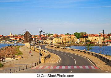 The old town of Nesebar, Bulgaria