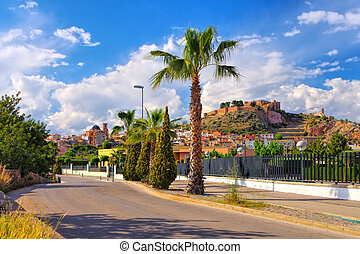 the old town of Onda, Castellon in Spain