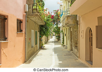 the old town of Rethymno