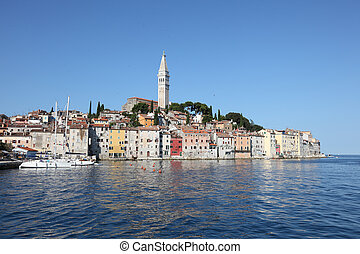 The old town of Rovinj, Croatia