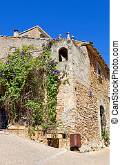 the old village of Capdepera in Mallorca, Spain