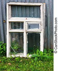 Window frame.
