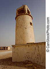 The older mosque in Doha, Qatar