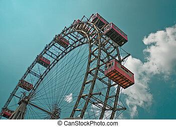The oldiest Ferris Wheel in Vienna