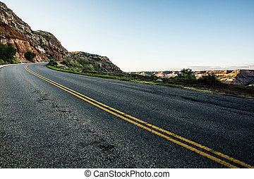 The Open Road - The open road in west Texas