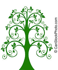 The openwork tree
