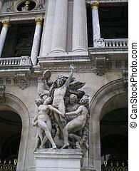 The Opera Garnier of Paris, France