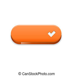 The orange accept button