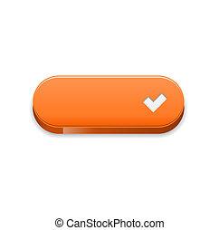 The orange accept button