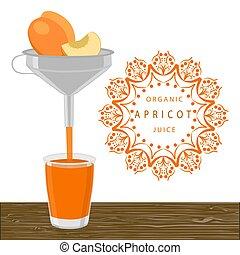 The orange apricot