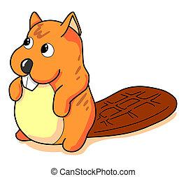 Beaver - The orange Beaver