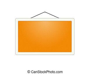 The orange board