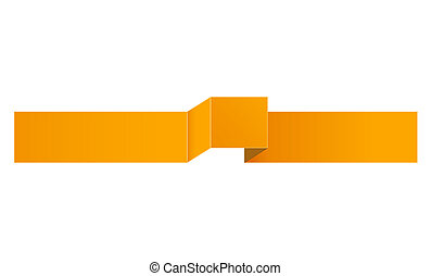 The orange ribbon
