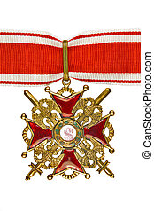 The Order of St. Stanislaus III degree.