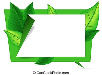 organic origami banner