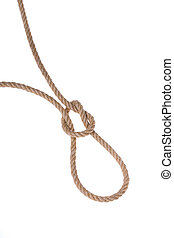 The original loop made ??of sturdy rope for hanging. On a...