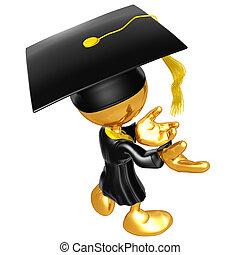 The Original Mini Guy Graduate
