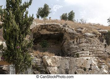 the original mountain Golgotha