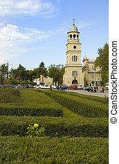 The orthodox church, city Belicy, Republic Moldova, Europe