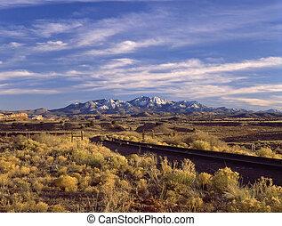 The Ortiz Mountains