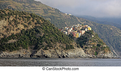 The Outskirts of Riomaggiore