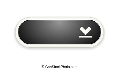 the oval button with arrow