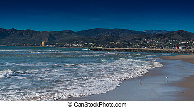 The Pacific Ocean in Ventura California
