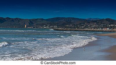 The Pacific Ocean in Ventura California