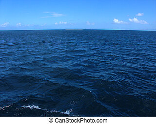 Pacific Ocean - The Pacific Ocean off the coast of...