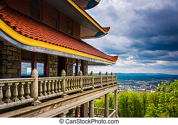 The Pagoda in Reading, Pennsylvania. - The Pagoda in...
