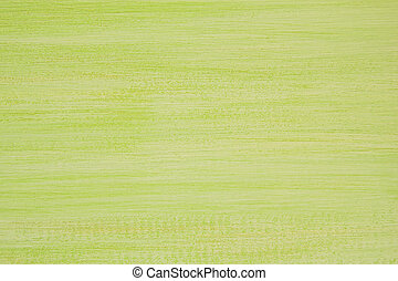 The painted green and white wooden textured background.
