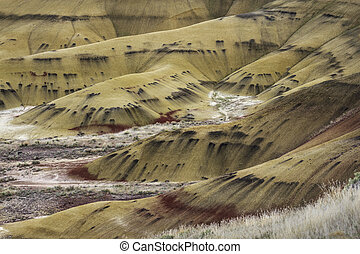 The Painted Hills of Oregon State
