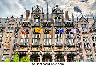 The Palace of the Prince-Bishops in Liege, Belgium
