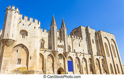 The Palais des Papes, Avignon, France