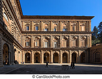 The Palazzo Pitti, Florence, Italy