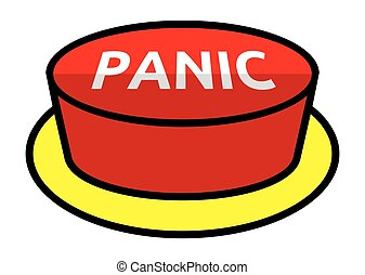panic button vector clip art royalty free 782 panic button clipart rh canstockphoto com play button clipart button clipart black and white